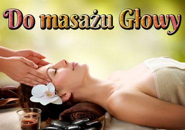 Do masażu głowy